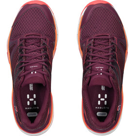 Haglöfs W's Observe GT Surround Shoes aubergine/carnelia